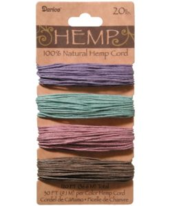 Hemp Cord – Vintage 1mm x 36.6m