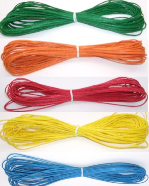 Hemp Cord - Rainbow Variety Pack 1mm x 91.4m