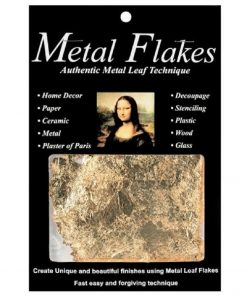 Mona Lisa Metal Flakes – Gold (3gm)