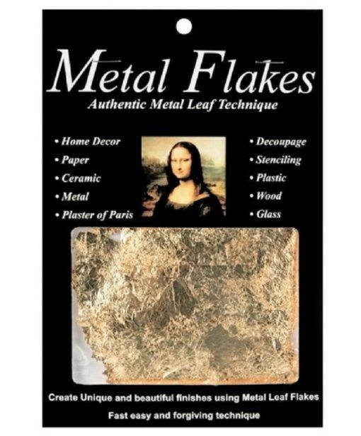 Mona Lisa Metal Flakes – Gold (3gm)