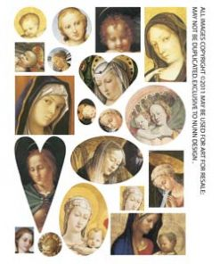 Collage Sheet Madonna