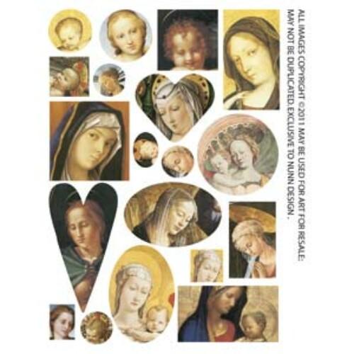 Collage Sheet Madonna