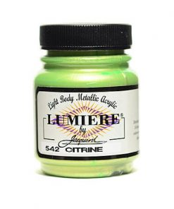 Jacquard Lumiere Acrylic Paint (70ml) - Citrine