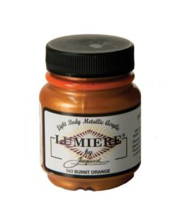 Jacquard Lumiere Acrylic Paint (70ml) - Burnt Orange