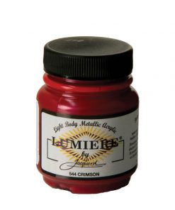 Jacquard Lumiere Acrylic Paint (70ml) - Crimson
