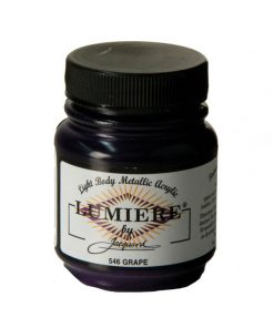 Jacquard Lumiere Acrylic Paint (70ml) - Grape