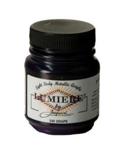 Jacquard Lumiere Acrylic Paint (70ml) - Grape