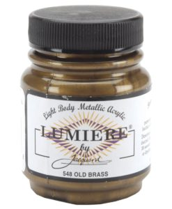 Jacquard Lumiere Acrylic Paint (70ml) - Old Brass
