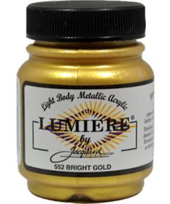 Jacquard Lumiere Acrylic Paint (70ml) - Bright Gold