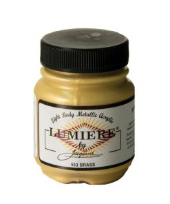 Jacquard Lumiere Acrylic Paint (70ml) - Brass