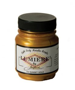 Jacquard Lumiere Acrylic Paint (70ml) - Sunset Gold