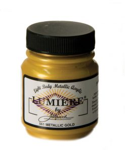 Jacquard Lumiere Acrylic Paint (70ml) - Metallic Gold