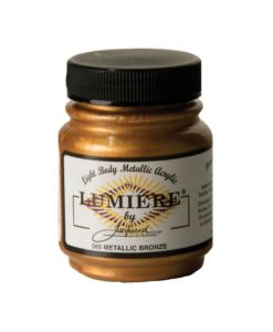 Jacquard Lumiere Acrylic Paint (70ml) - Metallic Bronze
