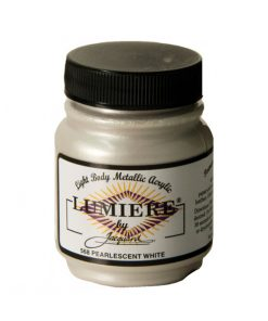 Jacquard Lumiere Acrylic Paint (70ml) - Pearl White