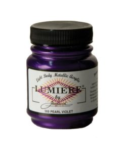 Jacquard Lumiere Acrylic Paint (70ml) - Pearl Violet