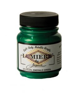 Jacquard Lumiere Acrylic Paint (70ml) - Pearl Emerald Green