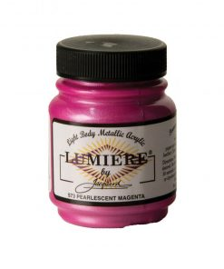 Jacquard Lumiere Acrylic Paint (70ml) - Pearlescent Magenta