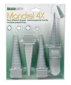 Mandrel 4 piece set with interchangeable handle.