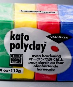 Kato Polyclay Sample Set - 4 Primary Colours