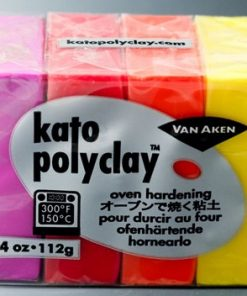 Kato Polyclay Sample Set - 4 Warm Colours