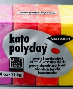 Kato Polyclay Sample Set - 4 Warm Colours