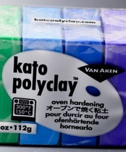 Kato Polyclay Sample Set - 4 Cool Colours