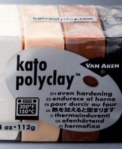 Kato Polyclay Sample Set - 4 Neutral Colours
