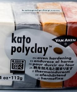 Kato Polyclay Sample Set - 4 Metallic Colours