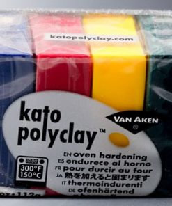 Kato Polyclay Sample Set - 4 Concentrate Colours