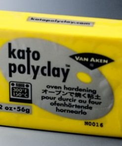 Kato Polyclay 56g - Yellow