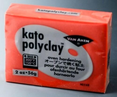 Kato Polyclay 56g -  Orange