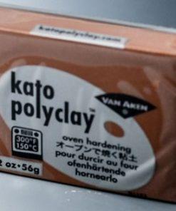 Kato Polyclay 56g -  Brown