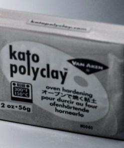 Kato Polyclay 56g - Metallic Silver