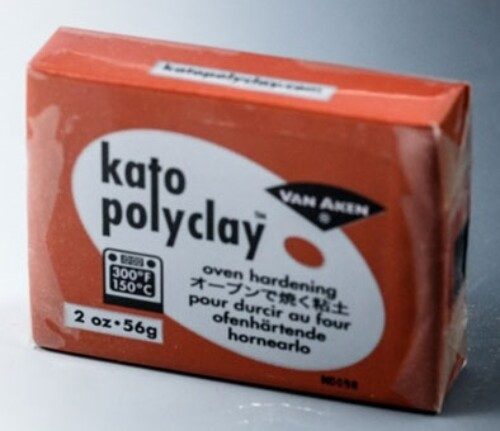 Kato Polyclay 56g - Metallic Copper