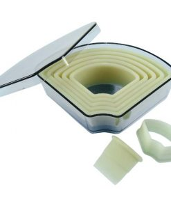 Heat Resistant Cutter Set- Fan (Trapezoid)