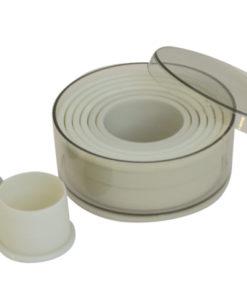 Heat Resistant Cutter Set - Round