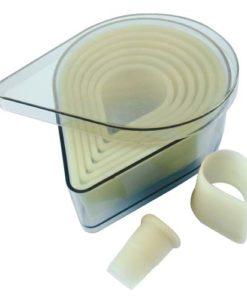 Heat Resistant Cutter Set - Teardrop
