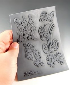Christi Friesen Texture Stamp - Swirlys