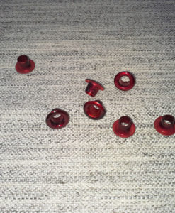 "Pandora Style Bead Inserts - Electric Red 4.82mm (3/16"")"