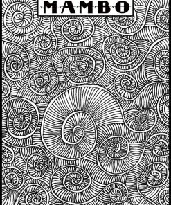 Helen Breil Texture Stamp - Mambo