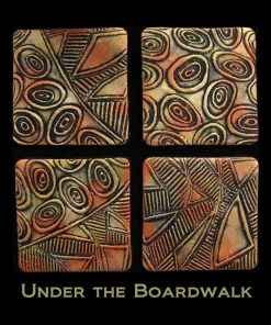 Helen Breil Texture Stamp - Under the Boardwalk