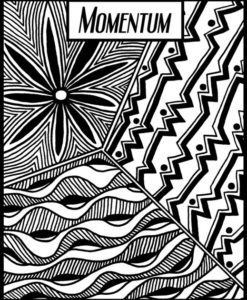Helen Breil Texture Stamp - Momentum