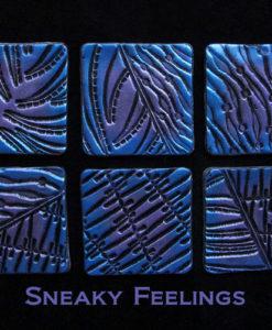 Helen Breil Texture Stamp - Sneaky Feelings