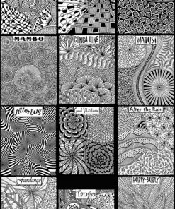 Helen Breil Texture Stamps - Set of 12