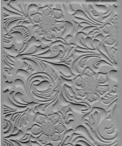 Lisa Pavelka Texture Stamp - Tooled Leather