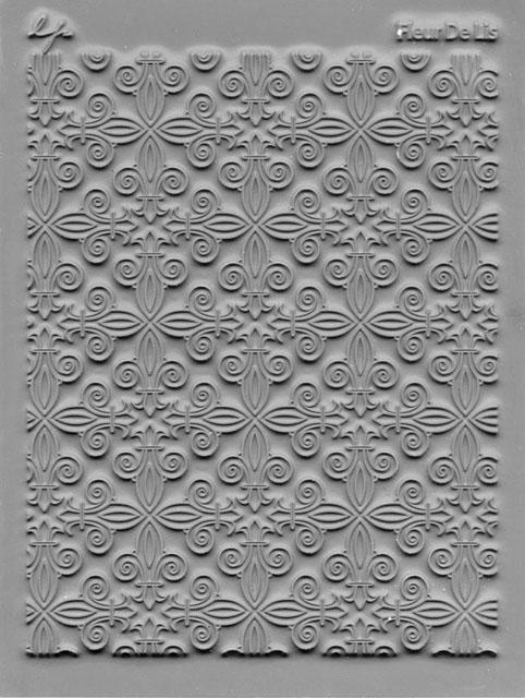 Lisa Pavelka Texture Stamp - Fleur de Lis