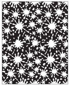 Lisa Pavelka Texture Stamp - Splat!