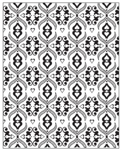 Lisa Pavelka Texture Stamp - Victorian Lace
