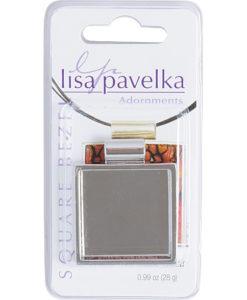 Lisa Pavelka Silver Bezel - Square