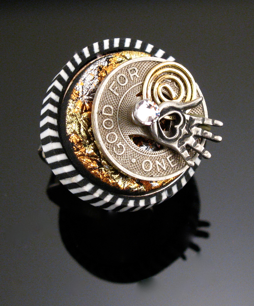 Lisa Pavelka Silver Ring Bezel - Round